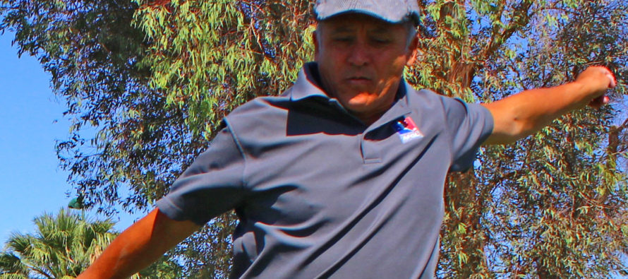 FIRST EVER DESERT FOOTGOLFER COMPETES IN PRO TOURNAMENTS