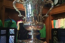 U.S. Wins World Amateur Team Championship Trophy on Display