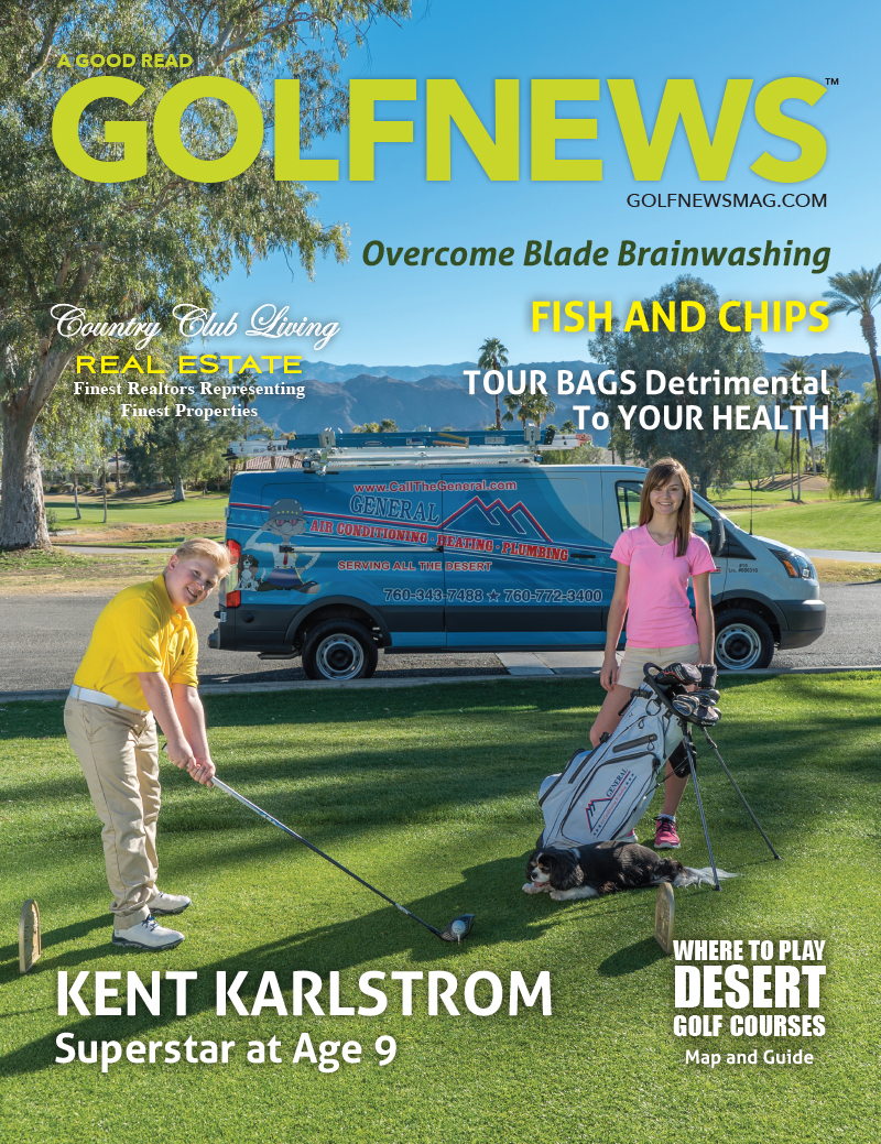 Golf News Magazine cover