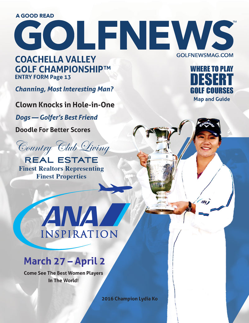 Golf News Magazine March 2017