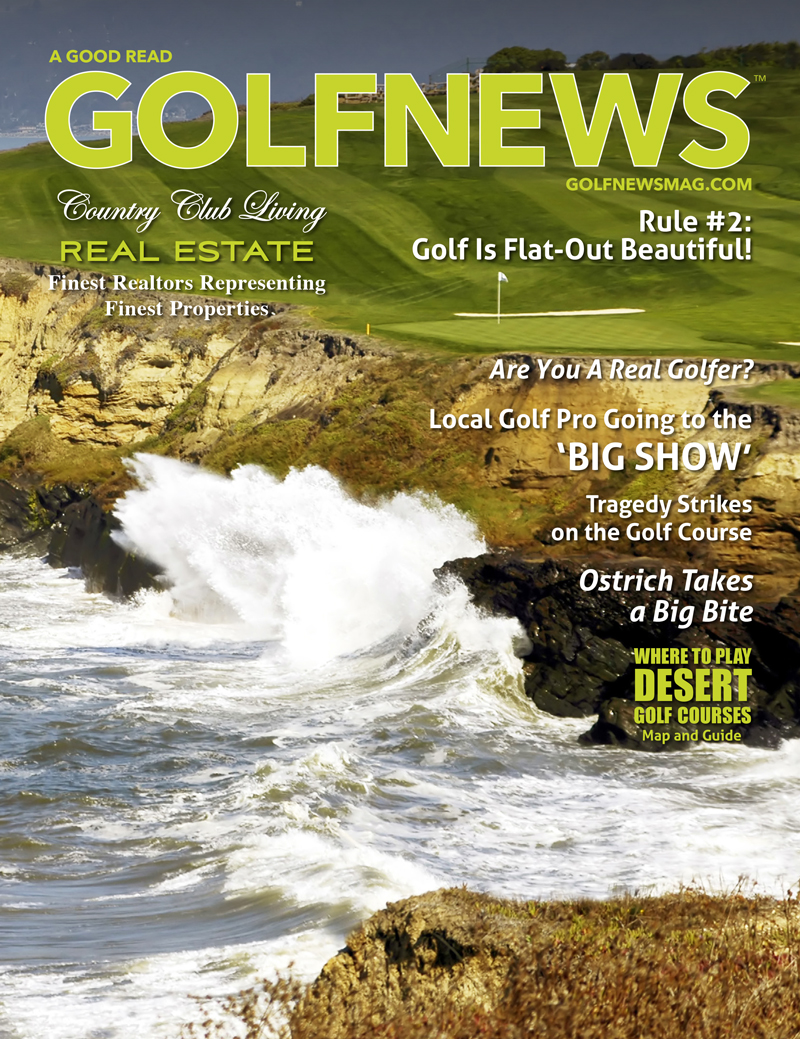 Golf News Magazine by Dan Poppers in California